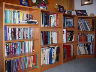 Family Book Shelves