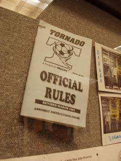Foosball Rulebook